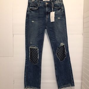 Zara denim wear